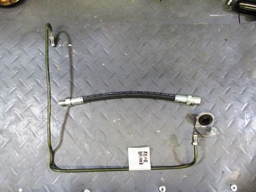Rear Brake Line Parts