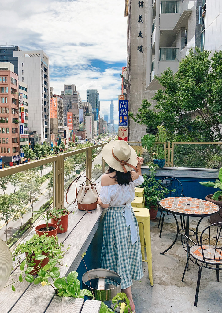 50元銅板的妙用:  Chicwish格子裙 + Toasteria Cafe 吐司利亞永康店
