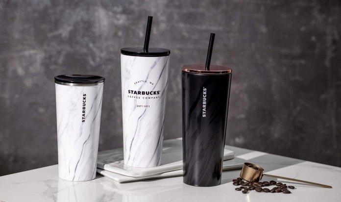 Starbucks_Minimalist Marble Series