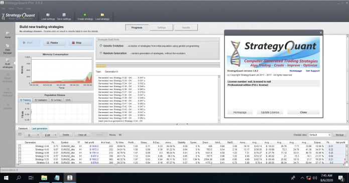 Working with StrategyQuant Pro 3.8.2 full license
