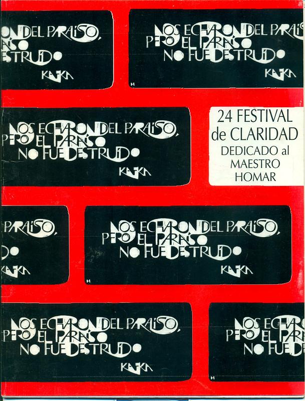 Carteles Festivales Claridad