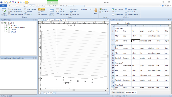 Working with Golden Software Grapher 16.3.410 full