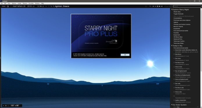 Working with Starry Night Pro Plus 8.0.6 full license