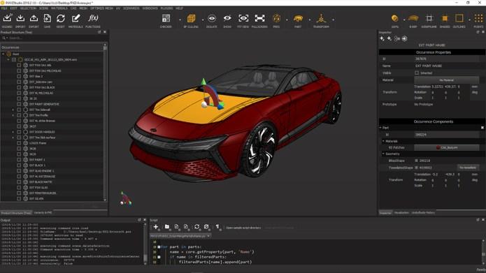 Working with PiXYZ Studio Batch 2019.2 full