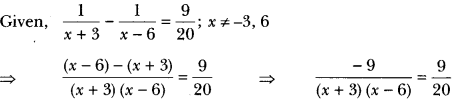 Quadratic Equations Class 10 Extra Questions Maths Chapter 4 with Solutions Answers 15