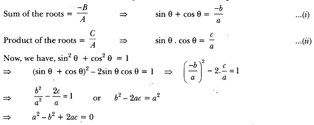 Quadratic Equations Class 10 Extra Questions Maths Chapter 4 with Solutions Answers 18