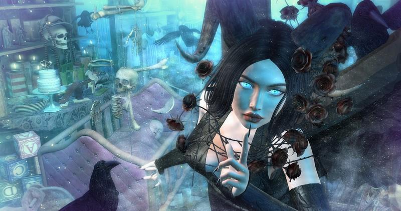 Aurora & Maleficent