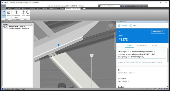 Working with Autodesk Navisworks Manage 2021 full license