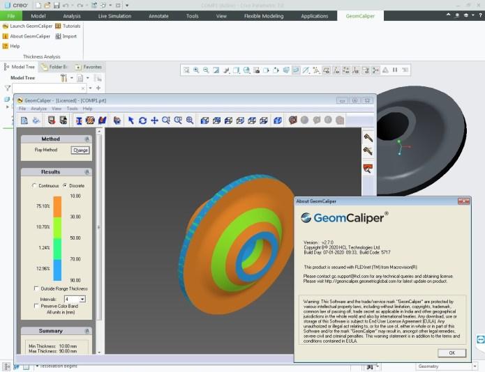 Working with Geometric GeomCaliper 2.7.0 for Creo 7.0 full