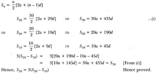 Arithmetic Progressions Class 10 Extra Questions Maths Chapter 5 with Solutions Answers 15