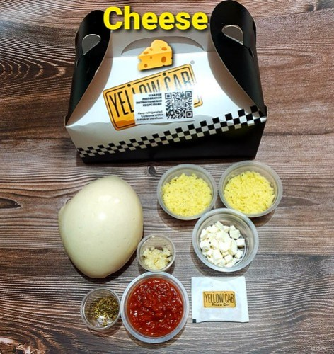 Yellow Cab New YOU DO YOUr Own Pizza Basic Kit