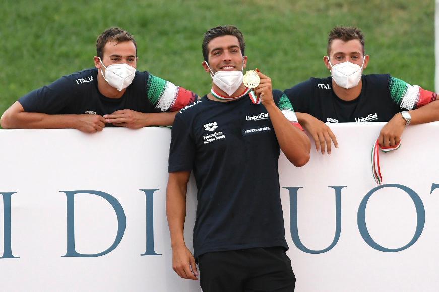 57° SetteColli | Assoluti 2020, day 1: Detti quasi record, bene Martinenghi, Caramignoli e Di Pietro
