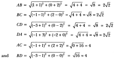 Coordinate Geometry Class 10 Extra Questions Maths Chapter 7 with Solutions Answers 29