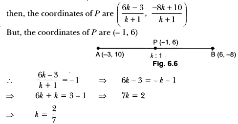 Coordinate Geometry Class 10 Extra Questions Maths Chapter 7 with Solutions Answers 7
