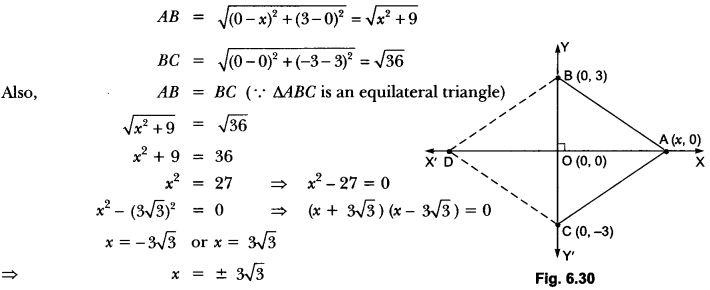 Coordinate Geometry Class 10 Extra Questions Maths Chapter 7 with Solutions Answers 60