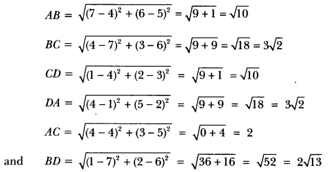 Coordinate Geometry Class 10 Extra Questions Maths Chapter 7 with Solutions Answers 30