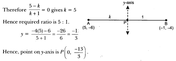 Coordinate Geometry Class 10 Extra Questions Maths Chapter 7 with Solutions Answers 21