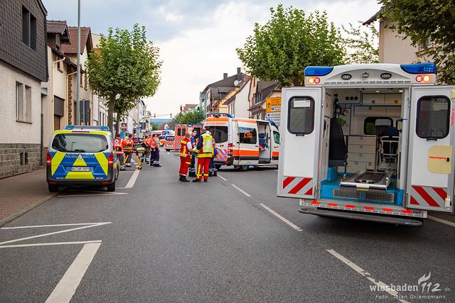 2020-08-12 WI112 VU mit Streifenwagen Kelkheim-10