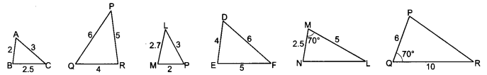 Triangles Class 10 Extra Questions Maths Chapter 6 with Solutions Answers 22