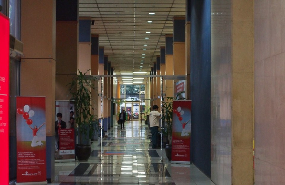 Philamlife Building corridor