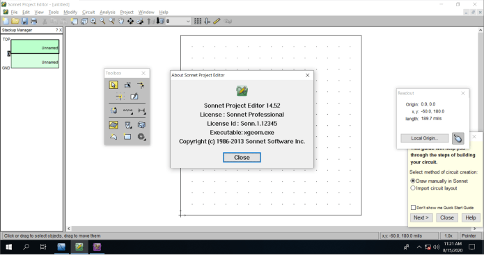 Working with sonnet suite pro 14.52 full license