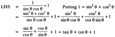 Introduction to Trigonometry Class 10 Extra Questions Maths Chapter 8 with Solutions Answers 72