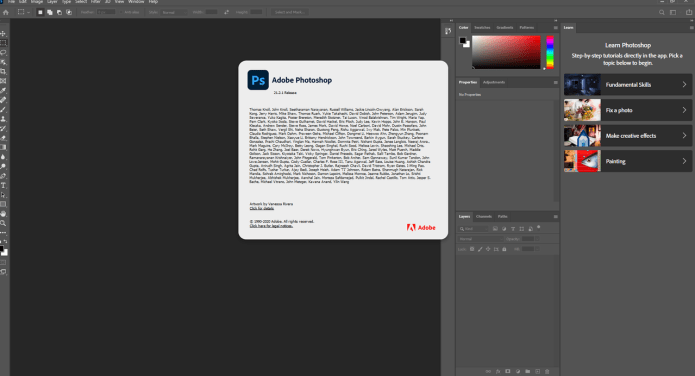 Working with Adobe Photoshop 2020 v21.2.2.289 full