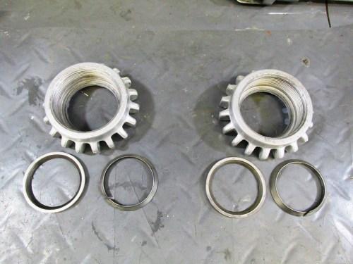 Exhaust Header Nut And Steel Sealing Rings