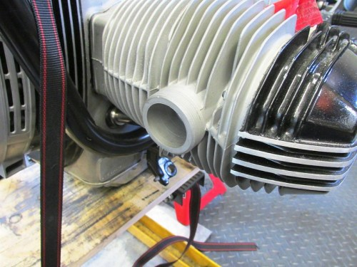 Threaded Exhaust Spigot In The Head