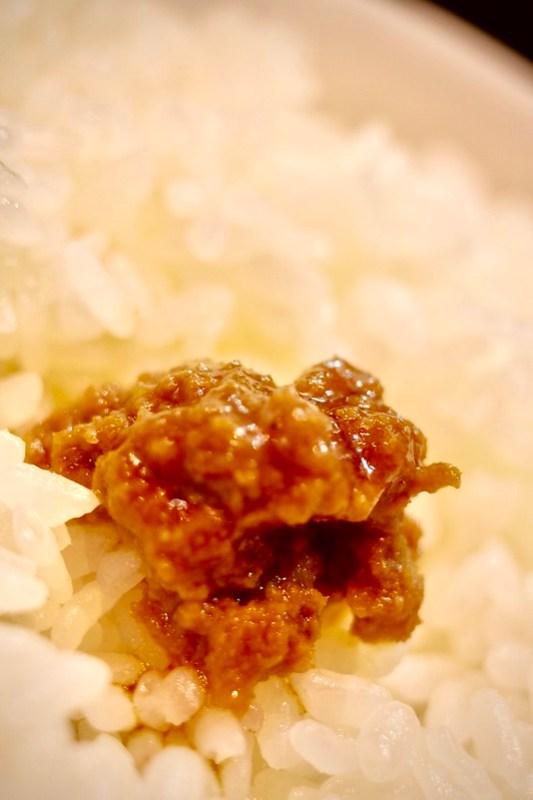 肉味噌+〆のライス