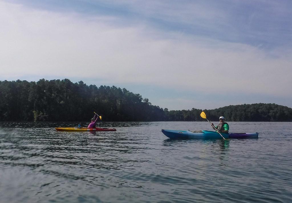 Ghost Island in Lake Hartwell