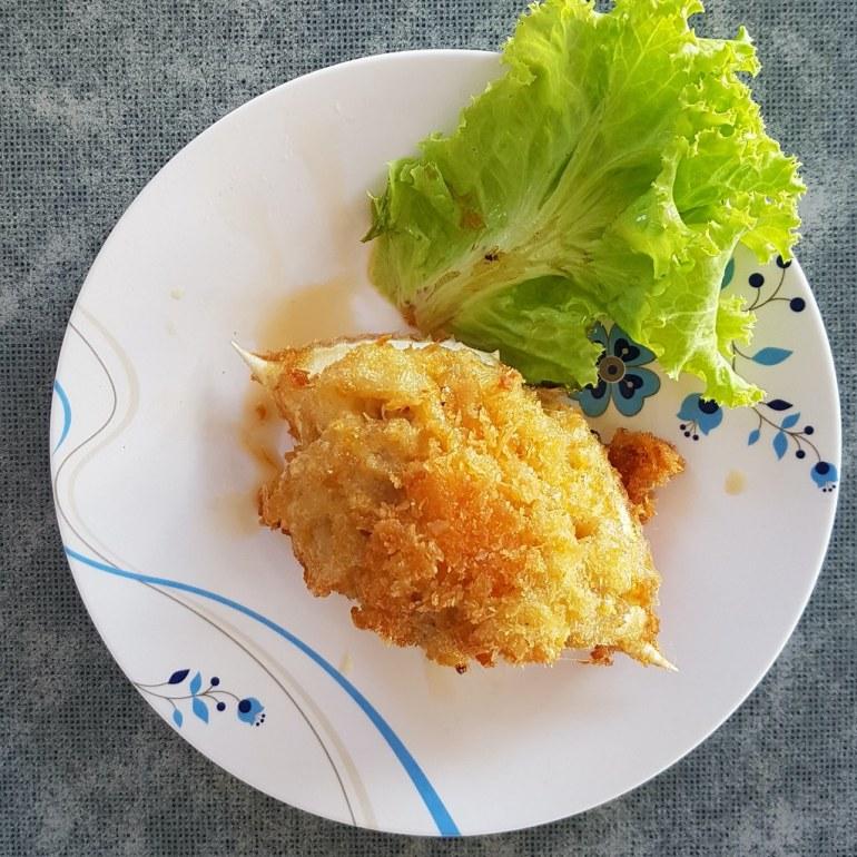ปูจ๋า - Deep Fried crab meat