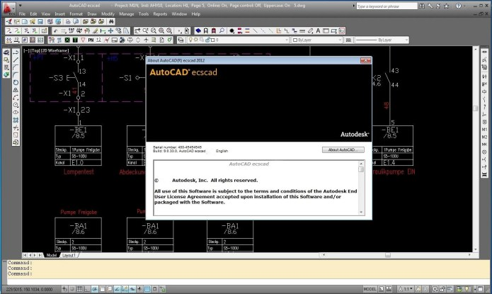Working with Autodesk AutoCAD ecscad 2012 full