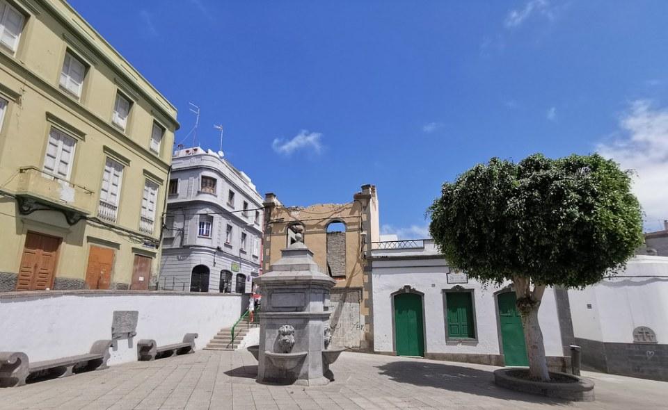 Plaza del Risco Barrio de San Nicolás Las Palmas de Gran Canaria