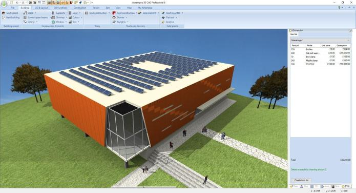 Working with Ashampoo 3D CAD Professional 6 v6.0.0 Final full