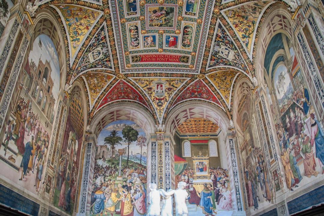 Libreria Piccolomini, Duomo di Siena