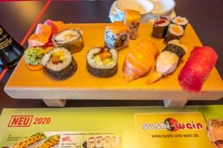 Kleine Sushi-Auswahl