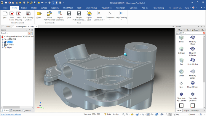 Working with IronCAD Design Collaboration Suite 2020 PU1 SP1 full