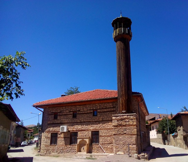 There were at least three mosques in Divriği with wooden minarets by bryandkeith on flickr