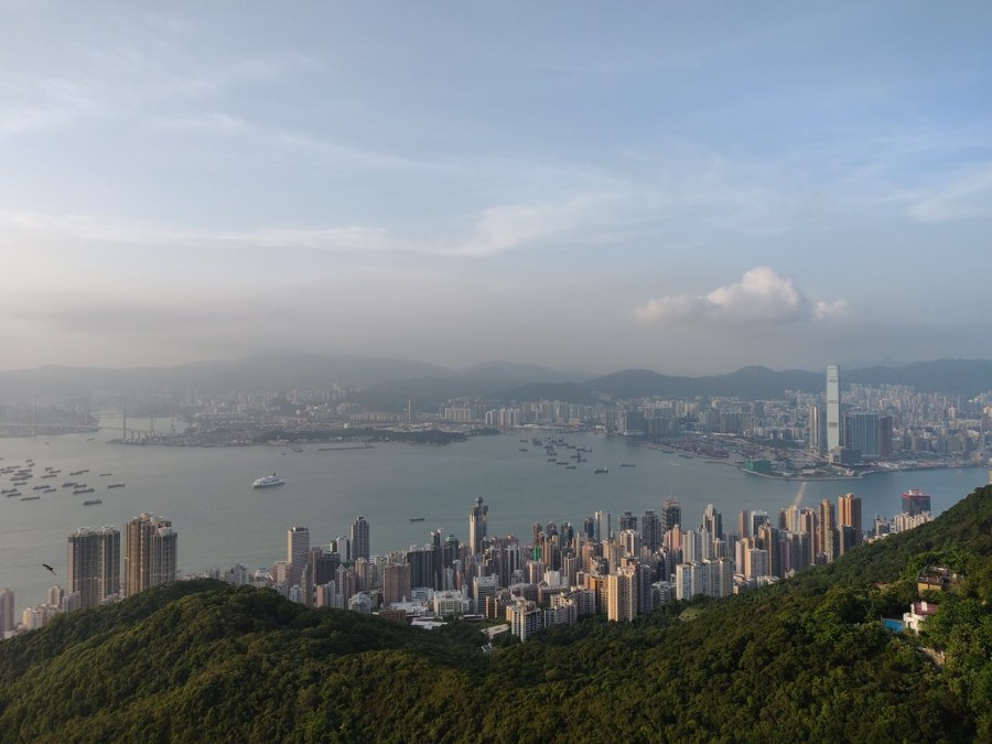 Hong Kong Views from High West Viewing Point