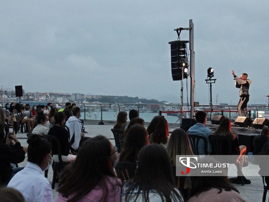 Kimberley Tell y Recycled J brillan en Vigo a pesar de la lluvia (27-08-2020)