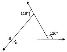 MCQ Questions for Class 9 Maths Chapter 6 Lines and Angles with Answers 2
