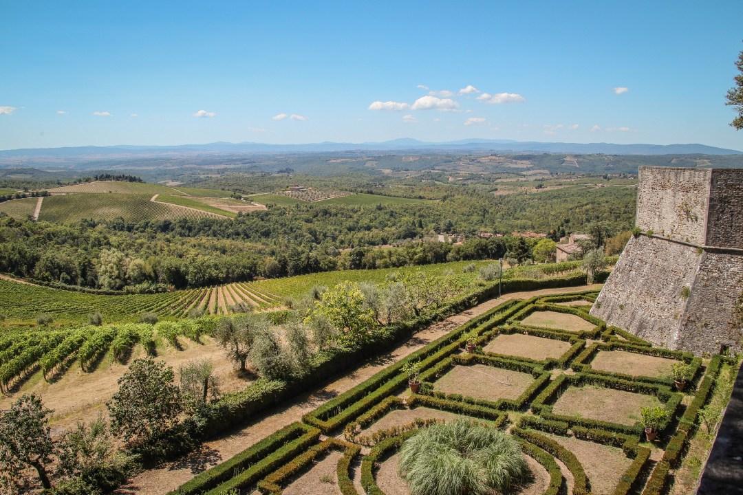 Panorama dal Castello di Brolio