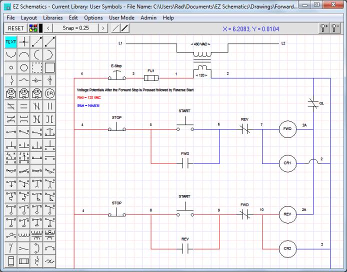 Working with EZ Schematics v5.3.14 full