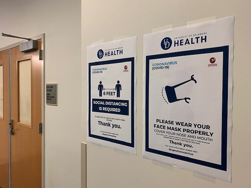 HSC signage outside classrooms
