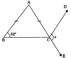 MCQ Questions for Class 9 Maths Chapter 7 Triangles with Answers 6