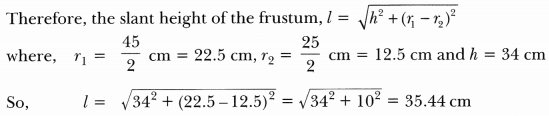 Surface Areas and Volumes Class 10 Extra Questions Maths Chapter 13 with Solutions Answers 85