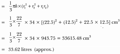 Surface Areas and Volumes Class 10 Extra Questions Maths Chapter 13 with Solutions Answers 86