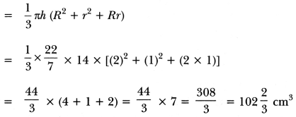 Surface Areas and Volumes Class 10 Extra Questions Maths Chapter 13 with Solutions Answers 37