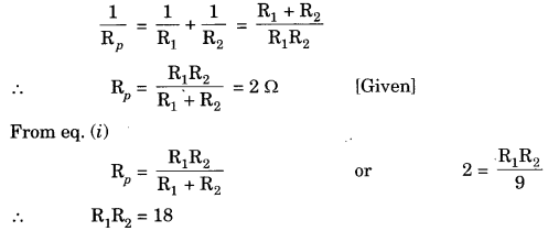 Electricity Class 10 Extra Questions with Answers Science Chapter 12, 37